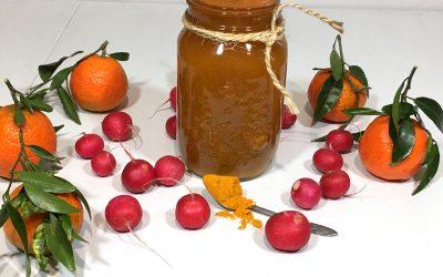 Jugo natural de frutas y vegetales para la artrosis