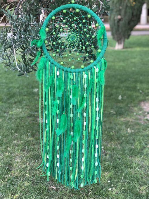 Atrapasueño de color verde