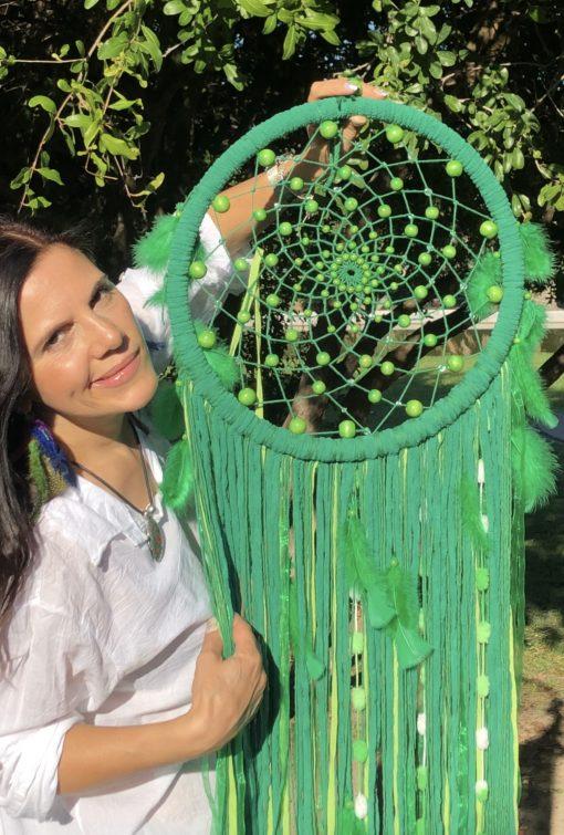 Atrapasueño color verde