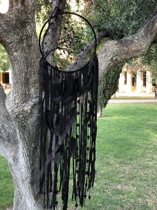 Atrapasueño de color negro