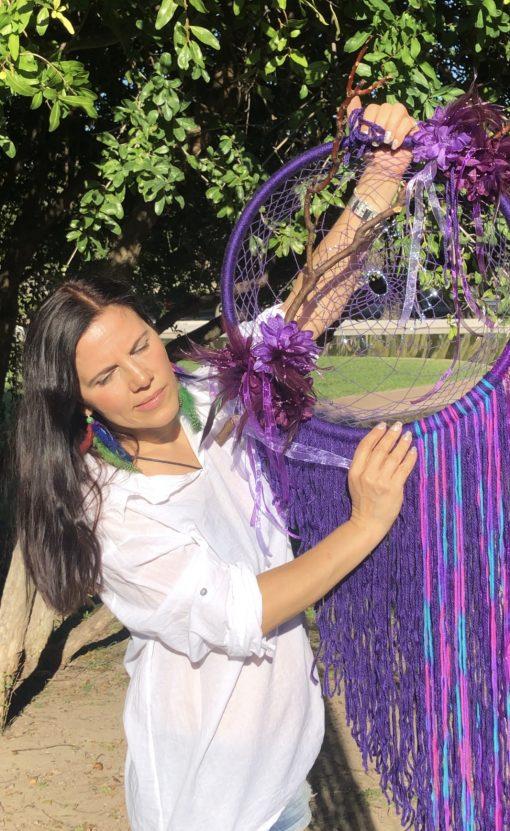 Atrapasueño Violeta