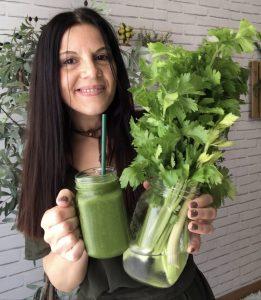 Foto de mujer con una vida saludable